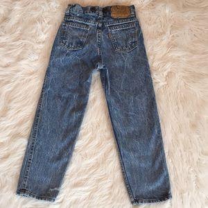 Vintage RARE Levi Orange Tab Unisex Kids Jeans